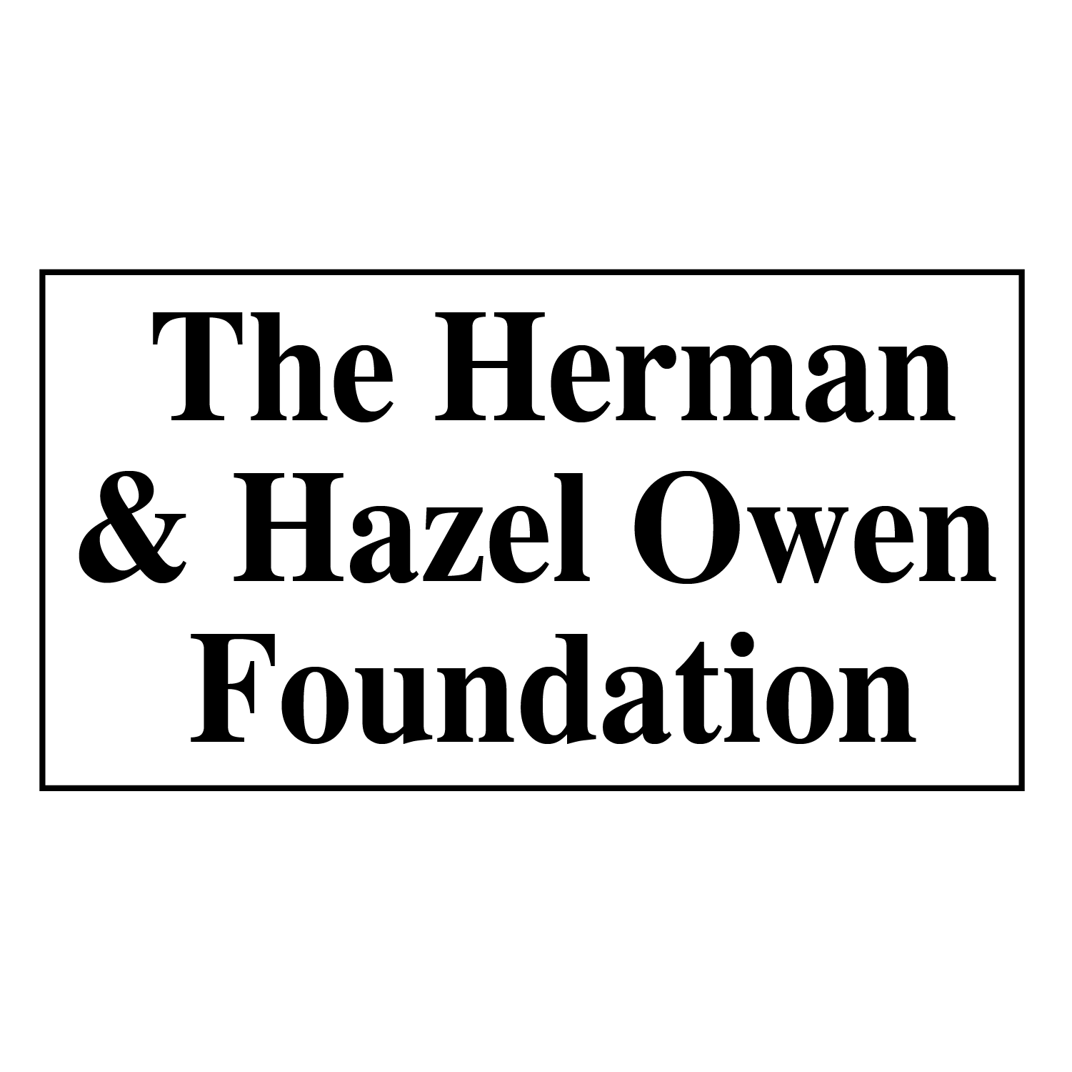 CAC Sponsor Logos_The Herman & Hazel Owen Foundation
